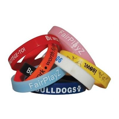 Printed Silicon Wristband Min 250 - Custom Wristbands & Watches - PM-WBSIL1 - Best Value Promotional items including Promotional Merchandise, Printed T shirts, Promotional Mugs, Promotional Clothing and Corporate Gifts from PROMOSXCHAGE - Melbourne, Sydney, Brisbane - Call 1800 PROMOS (776 667)