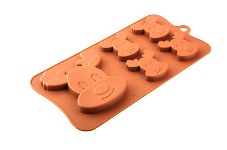 Chocolate Mould-Festive-Festive Moulds-Christmas-Xmas-Halloween-GingerBread-Silicone Moulds-Silicone-Baking-Kitchen