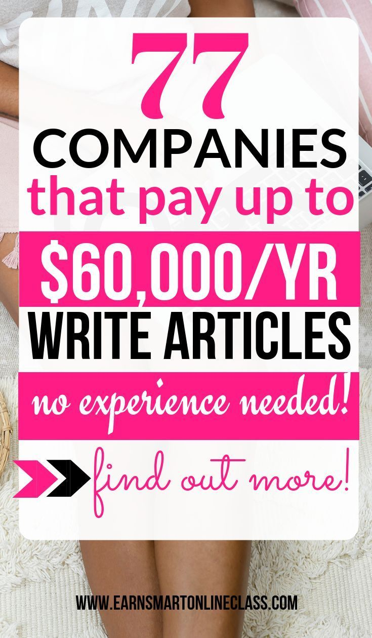 Get Paid To Write 70 Freelance Writing Jobs For Beginners Writing Jobs Freelance Writing Jobs Freelance Writing