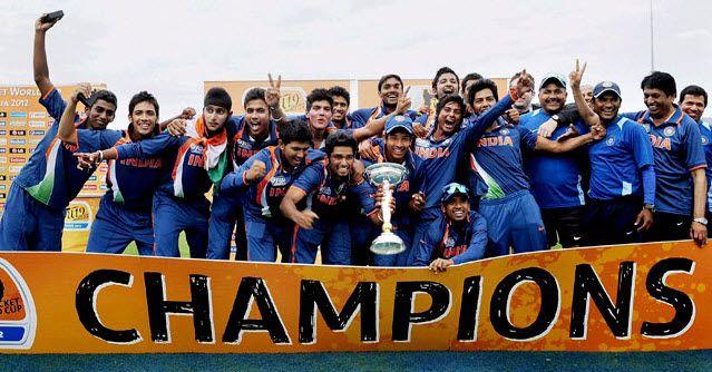 Under-19 world-Cup final, India tarrafic wins over Australia: Worldcup Final, Beats Australia, Unmukt Chand, U19 Cricket, Win U 19, Under19 Worldcup, Cups Final, World Cups, India Beats
