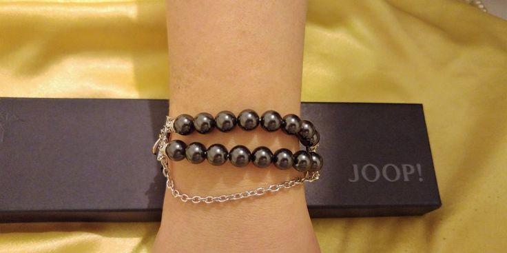+Original Joop! 925 Sterling Silber Armband+ UVP 199 Euro+Perlen+Neu+31,2 Gramm+