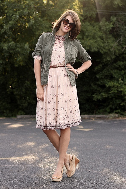What I Wore: The Real Me by What I Wore, via Flickr: Clothes Dresses, Closet Wishlist, Outfit, Posts, Fashion Bloggers, Floral Dresses, Fashion Blogger Style