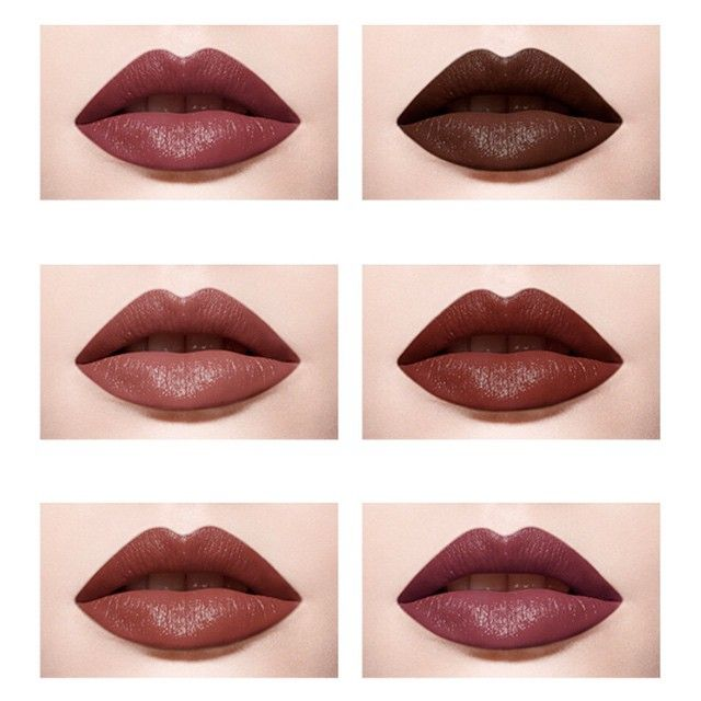 """Haven't you heard, 2015's color is Marsala. Let's all Marsala our lips and pep up our Winter Makeup look with some burgundy touch! Aqua Rouge #11 #9, Aqua…"""