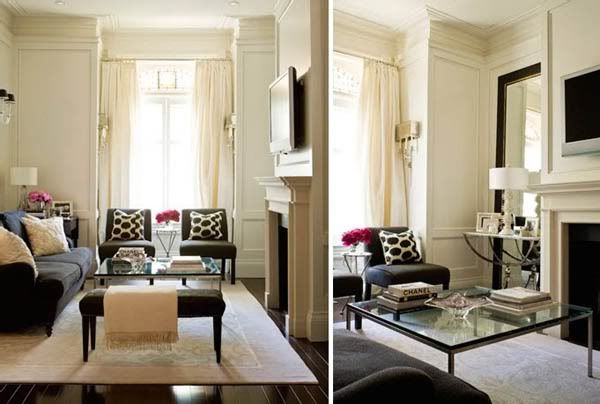 nice living room set up