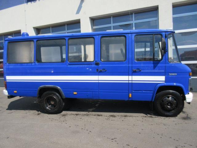 Mercedes-Benz MB 508 D lang 4 Sitzer 2x Schiebetür, Motorhomes/Caravanes Autres…