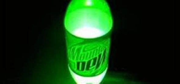 Mountain Dew Glow  It's a fake! Learn why the glowing Mountain Dew YouTube video was a hoax.