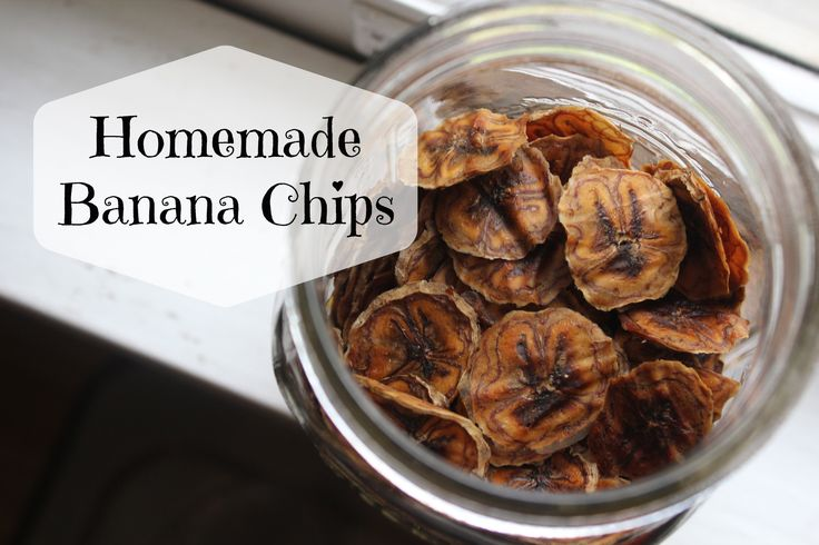 Homemade Banana Chips | The Polivka Family