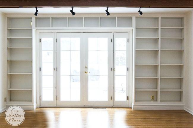 Built In Bookshelves Ideas For Adding Bookshelves Around