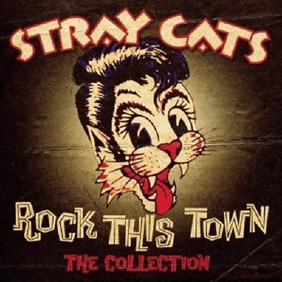 STRAY CATS - ROCK THIS TOWN-THE COLLECTION  CD NEW+