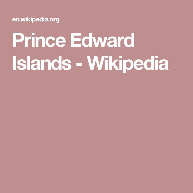Prince Edward Islands - Wikipedia