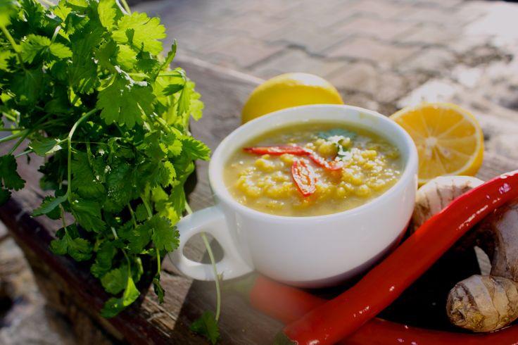 zupa z soczewicy i imbiru