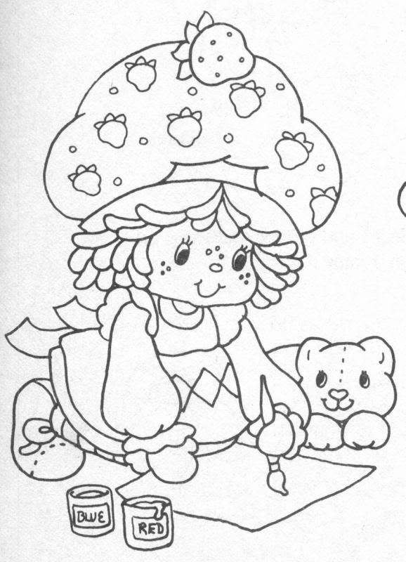 68 best strawberry shortcake images on Pinterest | Coloring books ...