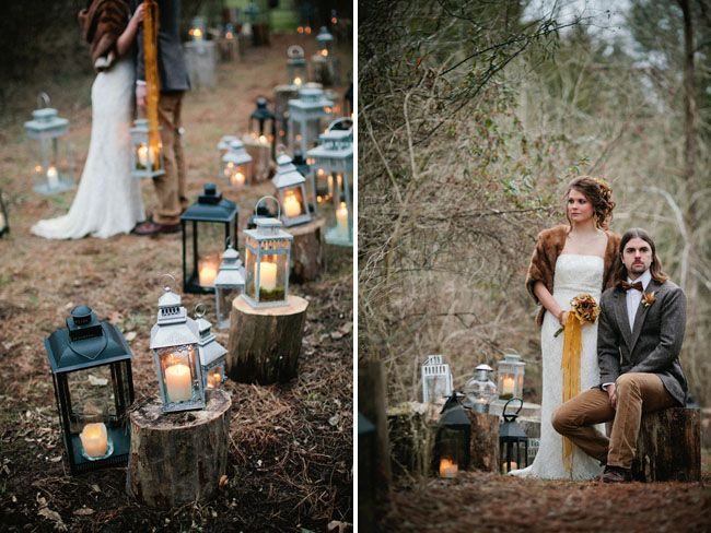 why use just one lantern when you can use 100 :)