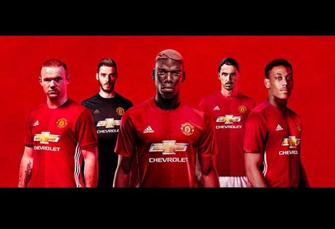 Manchester United Squad Roster Players 2016/2017 (16/17