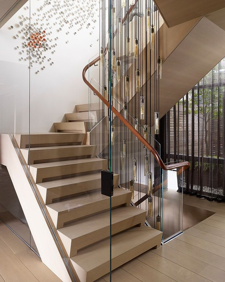 7 Ultra Modern Staircases: Tribeca Triplex By Amy Lau Design