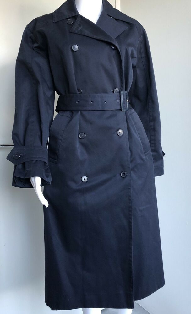 uniform trench navy coat Yves airline by Qantas Saint 4ALR3j5q