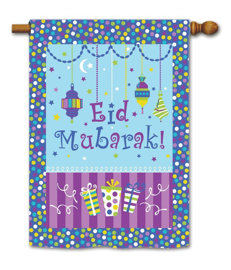 Eid Mubarak House Flag | Flags