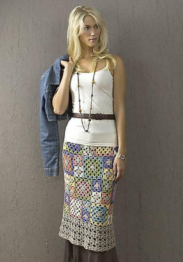 15 Fun, Flirty, Fabulous Free #Crochet Skirt Patterns: Archena Crochet Skirt Pattern by Doris Chan