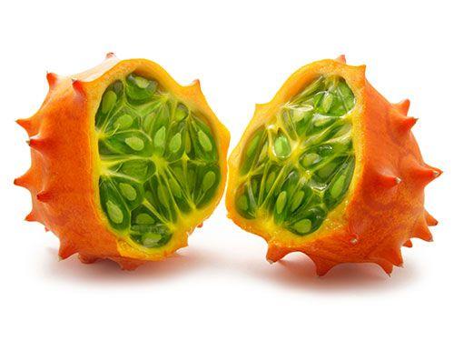 healthy breakfast fruits strange green fruit