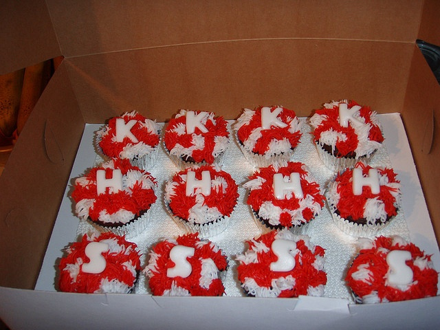 Cheer Cupcakes