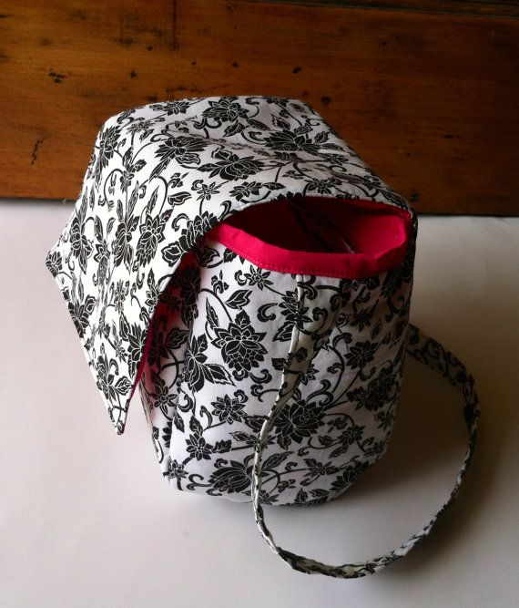 Insulated Lunch Tote by MyaCdesign on Etsy, $24.00