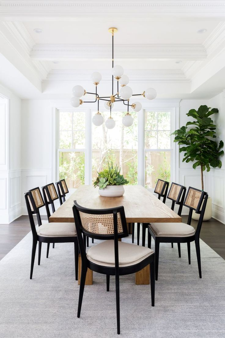 15 Perfect Dining Room Chairs According To Your Style Dining Room Interiors Living Dining Room Casual Living Rooms