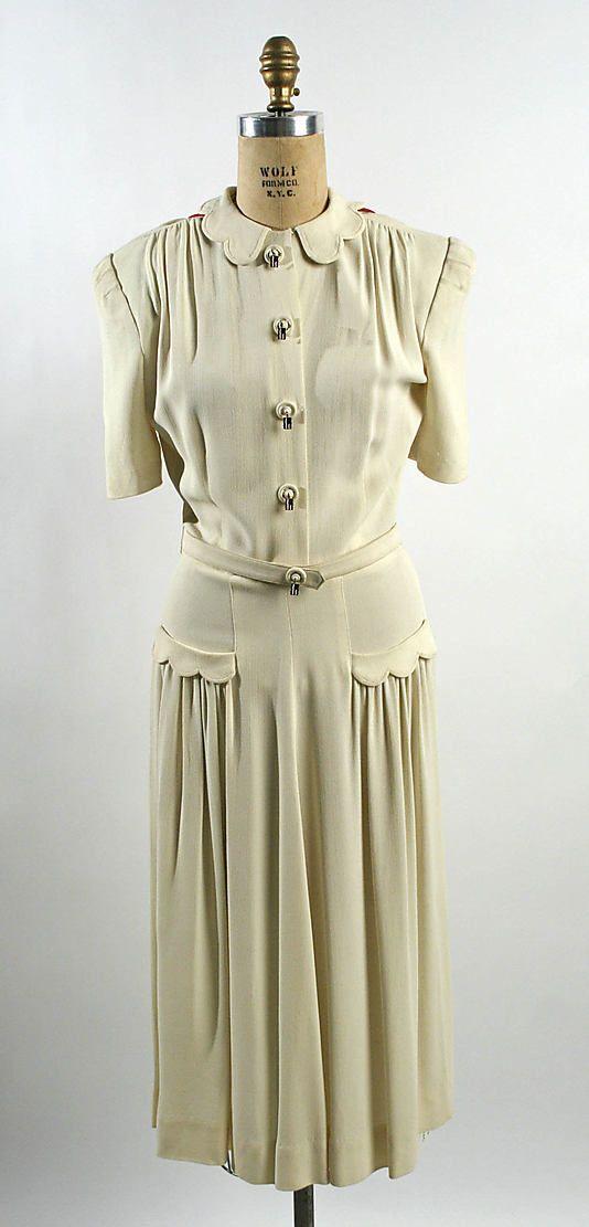 Afternoon Dress, American, c.1940, The Metropolitan Museum of Art, New York