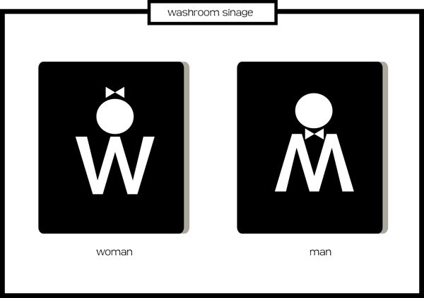 Washroom Signages - ClipArt Best
