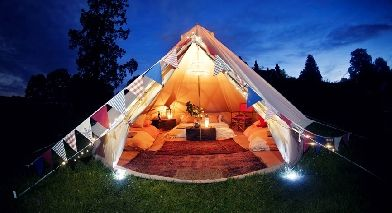 Glamping in Surrey and Sussex at Glamping Holiday Alfold