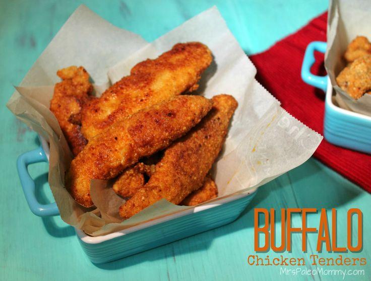 Buffalo Chicken Tenders and Fried Mushrooms  #heatherhollandaise