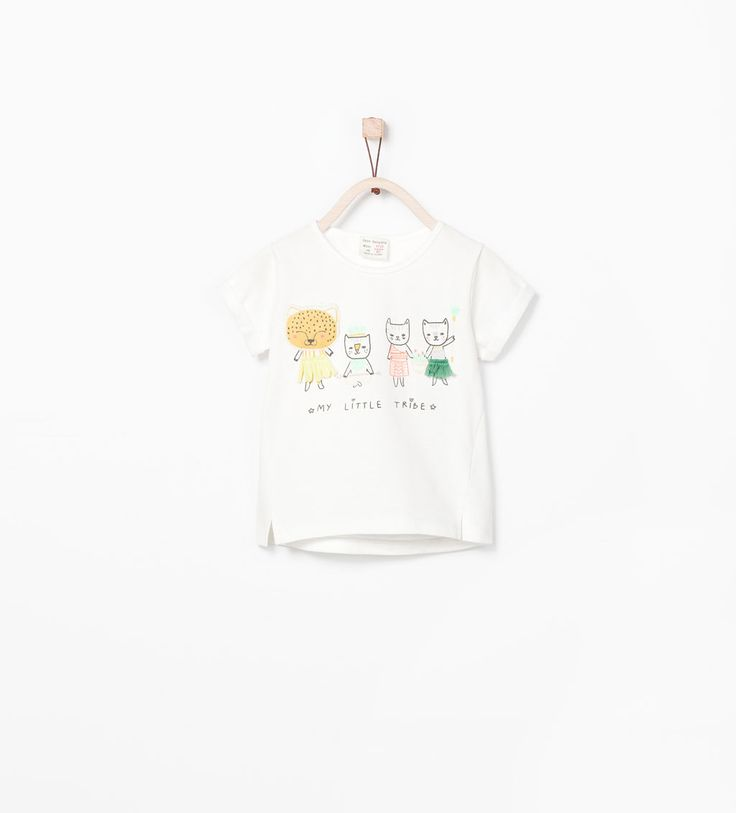 TIGER FAMILY T-SHIRT-T-shirts-Baby girl (3 months-3 years)-KIDS | ZARA Germany