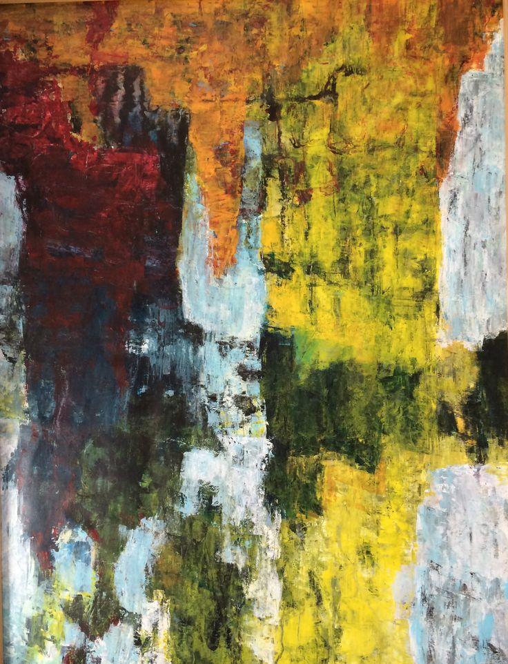 Acryl på lærred, 100 x 130 cm, 2014