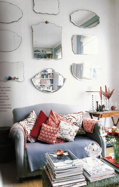 Vintage mirrors, I'm going to have this on the wall in my kitchen.