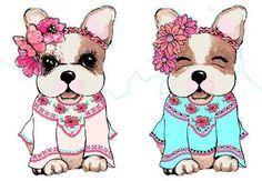 kit imprimible perros simones + candy bar