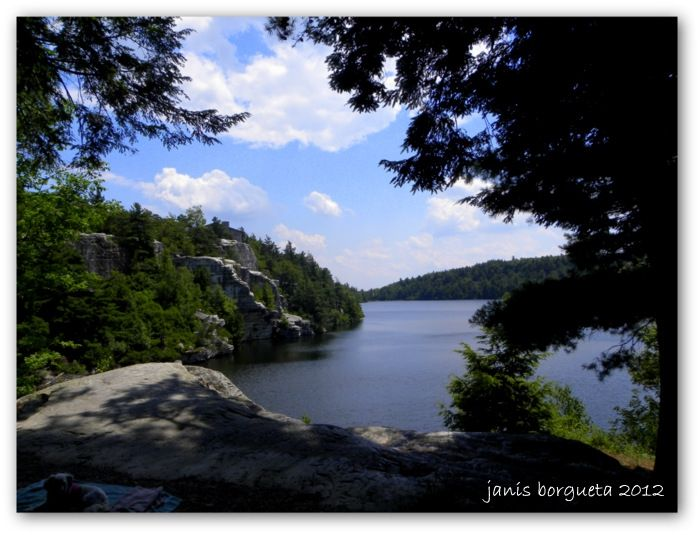 Minnewaska State Park in the Hudson Valley .... doesn't get much more beautiful than this!