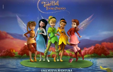 Tinkerbell 3D Animated Wallpaper