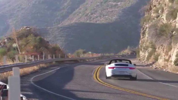 Porsche 911 Carrera 4 GTS Cabriolet Driving Video Trailer