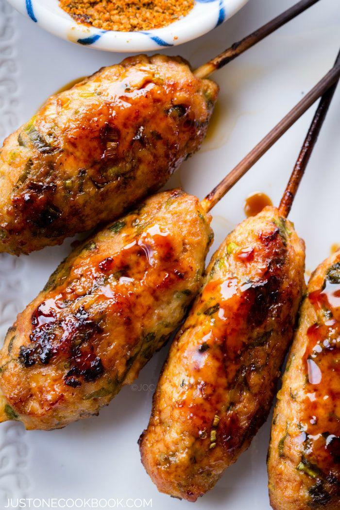 Tsukune (Chicken Meatballs) - Japan