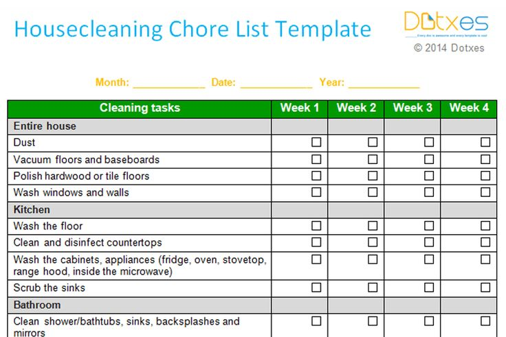 Weekly-House-cleaning-Chore-List-Template-Featured-Image.png (800×534)