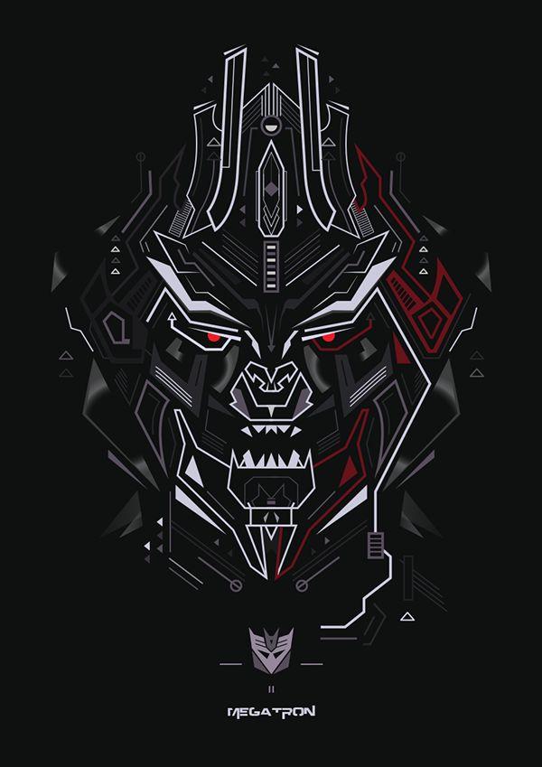 Decepticon on Behance | transformers | Transformers movie ...