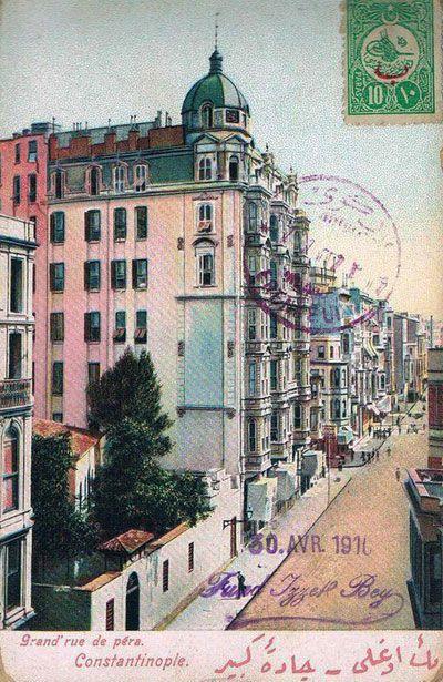Pera, 1910 #poster #istanbul #old #vintage #istanlook