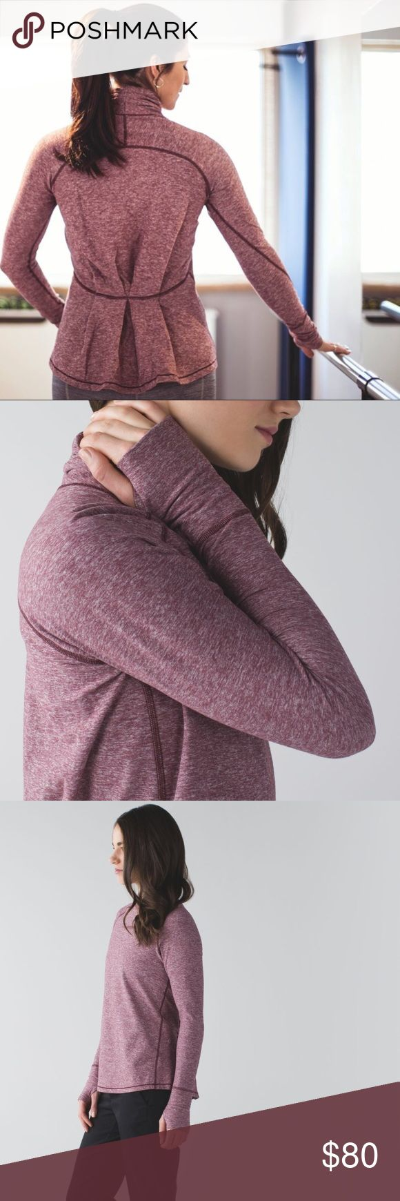 Lululemon Warm Your Core Long Sleeve Size 6 Perfect condition. Heathered Bordeaux Drama. Pleated back. Very flattering and stylish. Rulu fabric. Reasonable offers are always welcome! (offers less than 50% of listing price=automatic rejection) 🚫trades! I offer 20% off bundles of only 3+ items. NO OFFERS ON BUNDLES. Buy 4+ and get 25% off but you must contact me beforehand. All of my Lululemon items are smoke-free, free of defects, very well taken care of, washed & hung to dry (never thrown…