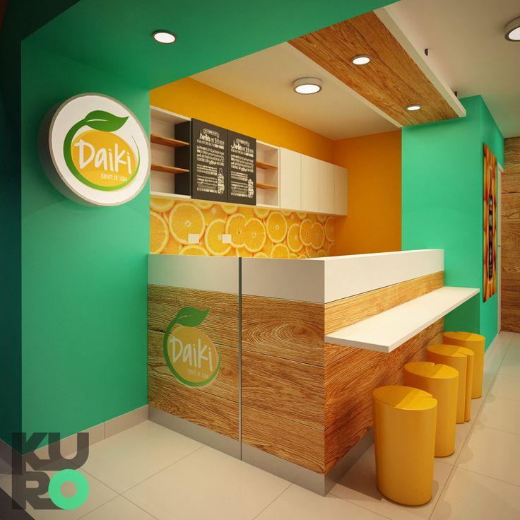 Daiki - Fuente de Soda by KURO design studio                                                                                                                                                                                 Más