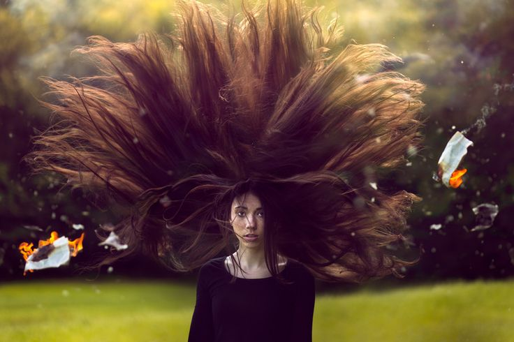 How To Create Dramatic Hair In Photoshop - Photograph Veronica by Adrian Chudek on 500px