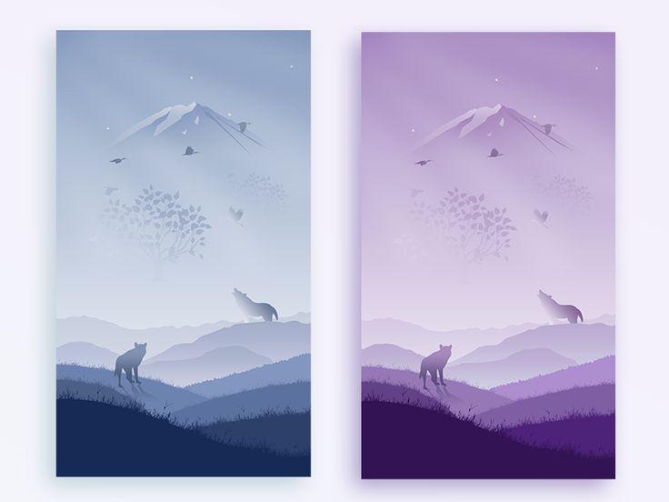 Illustration wallpaper hope you can like!