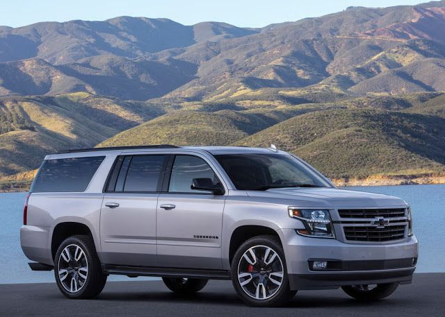 2019 Chevrolet Suburban Rst Performance Package Chevrolet