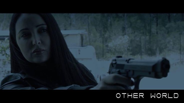 """Want strong more gun-toting female characters? You got it. @Marisa_Actress as """"Nikita"""" #scifi #scifichat http://ow.ly/i/4PUJB pic.twitter.com/lBmlAZDsUz"""