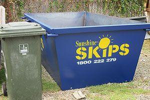 4 Cubic Meter Skip (Brisbane, Sunshine Coast) - https://www.sunshineskips.com.au/skip-bin-sizes/4-cubic-meter-skip/