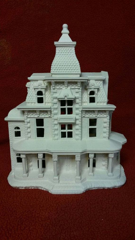 Ready to paint Ceramic Bisque Highland Estate by 4CNCeramics
