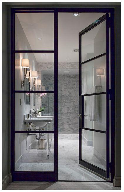 352 best images about lincoln park dayton street on for Master bathroom pocket door